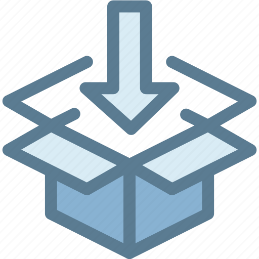 business, delivery, import, logistic, logistics, packing, parcel icon