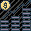 growth, increase, managment, money, planning, progress, revenue