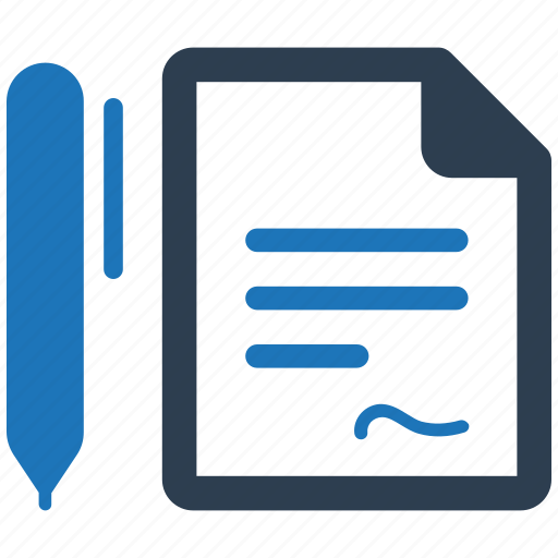 agreement, business, contract icon