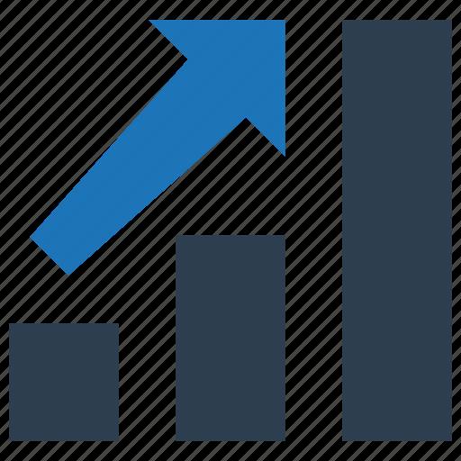 Bar chart, growth, profit, statistics icon - Download on Iconfinder