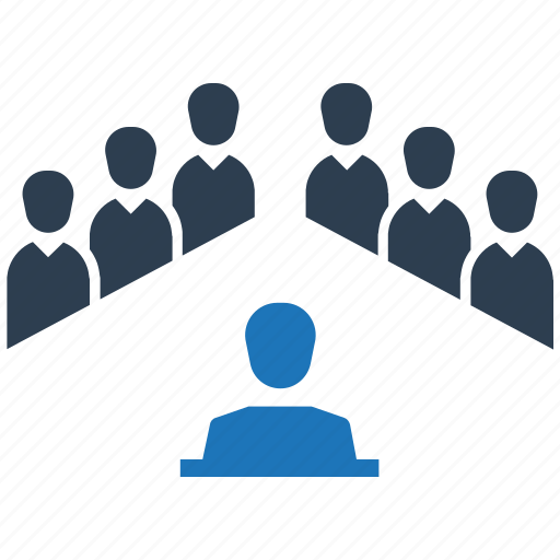 conference, discussion, meeting, teamwork icon
