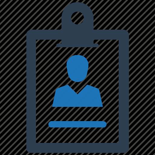 cv, portfolio, profile, resume icon
