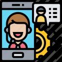 after, sale, service, operator, smartphone