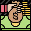 budget, money, investment, bank, deposit