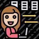 business, data, exchange, files, sharing