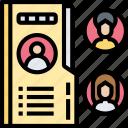 employee, data, folder, portfolio, document