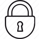 insurance, locked, padlock, privacy, protection, safety, security icon