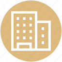 building, business, company, corporation, office, plaza icon