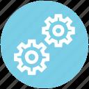 cogs, control, gears, machine, process, settings