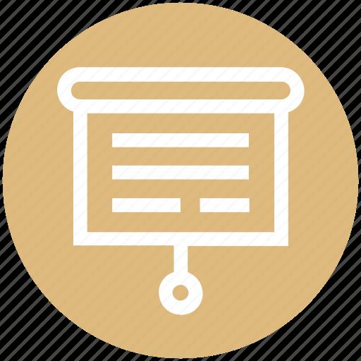 Board, business, education, management, presentation icon - Download on Iconfinder