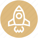 launch, rocket, space, space ship