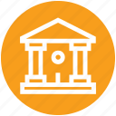 bank, building, courthouse, finance, office