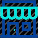 building, market, market store, shop, store icon