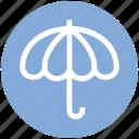 dry, forecast, insurance, rain, umbrella, weather