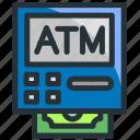 atm, banking, card, cash