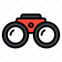 binocular, search, spyglass, vision icon