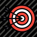 arrow, dart, success, target