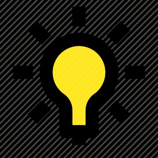 business, creative, idea, inovation, lamp, light icon
