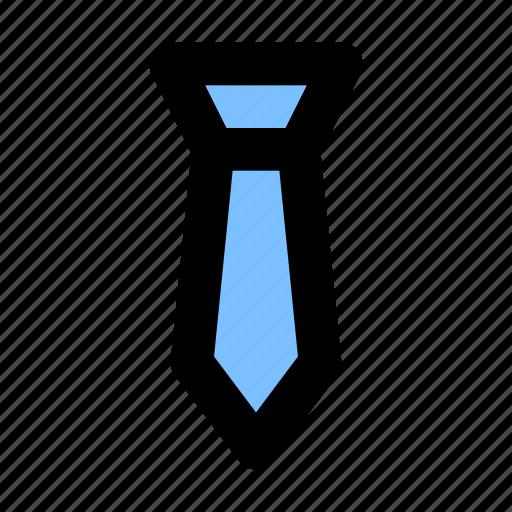 business, clothes, fashion, tie, uniform icon