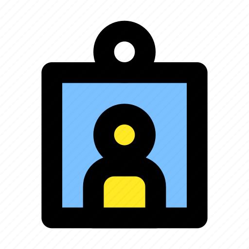 card, contact, id, people, user icon