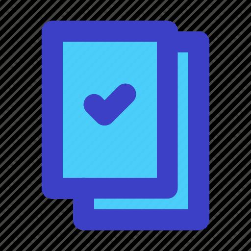 check, clipboard, list icon