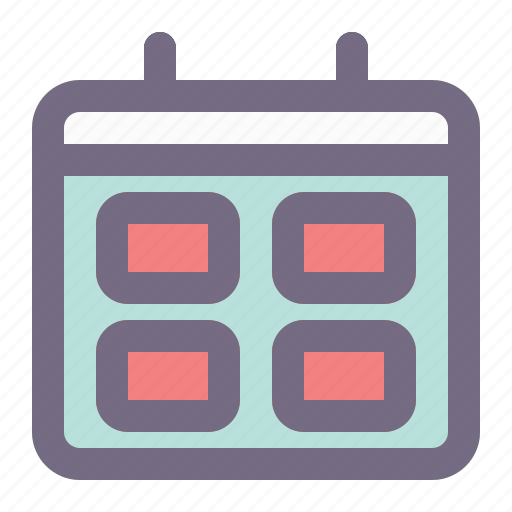business, company, date, finance, office, schedule, time icon
