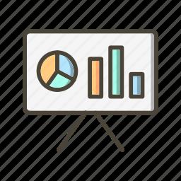 analytics, business, chart icon