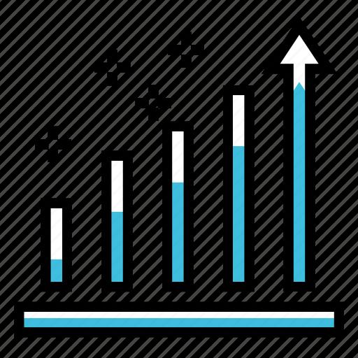 analytics, business, chart, finance, growth, marketing, statistics icon