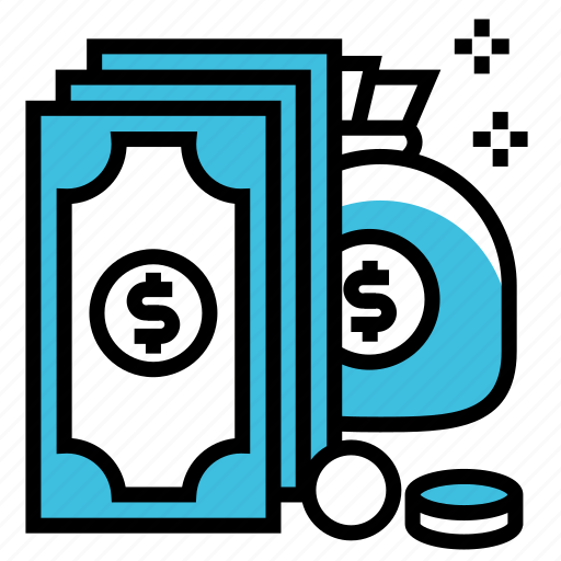 business, cash, currency, doller, finance, money, payment icon