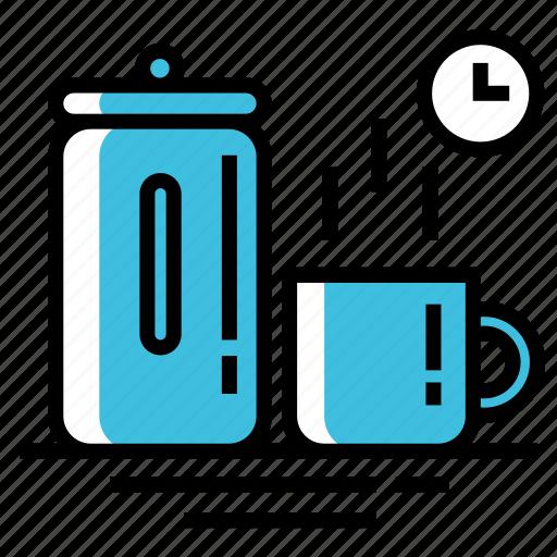 beverage, coffee, cup, drink, hot, restaurant, tea icon