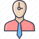 alarm, alarm machine, clock, employee, schedule, time, watch icon