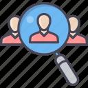 customer, employee, focus, target, user, man, people