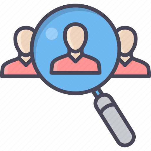 customer, employee, focus, man, people, target, user icon