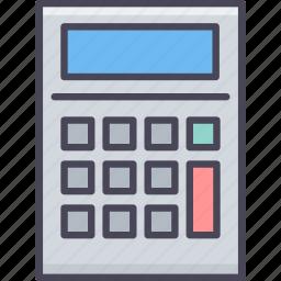 accounting, calc, calculate, calculating, calculation, calculator, mathematics icon