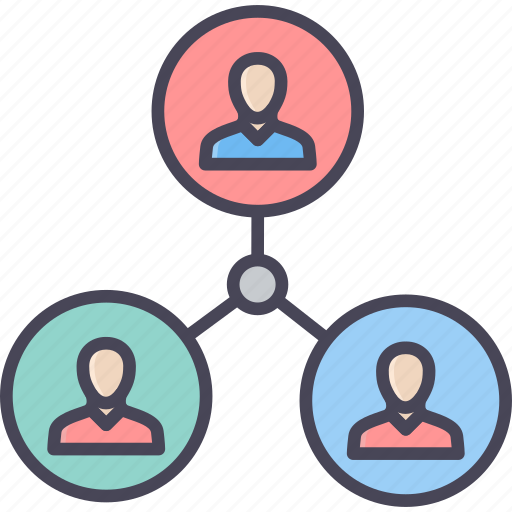 connect, connection, media, network, people, social, user icon