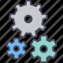 gear, setting, control, process, repair, system, tools