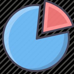 analysis, analytics, business, chart, graph, office, pie icon