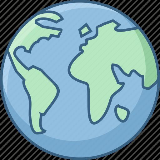 Earth, global, globe, international, location, world, worldwide icon - Download on Iconfinder