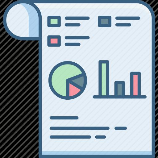 analytics, chart, document, documents, graph, report, statistics icon