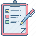 check, checklist, list, tasks, todo list icon