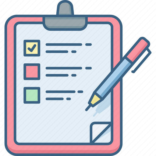 Checklist, list, todo list, check, tasks icon - Download on Iconfinder
