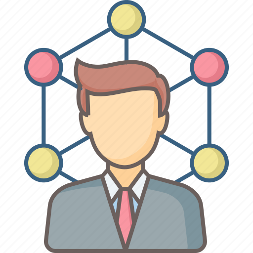communication, connection, interaction, links, network, social icon