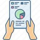 analytics, chart, graph, plan, report, statistics icon