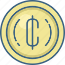card, cash, cent, coin, currency, financial, money icon