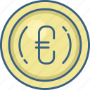 cash, cent, coin, currency, dollar, money icon