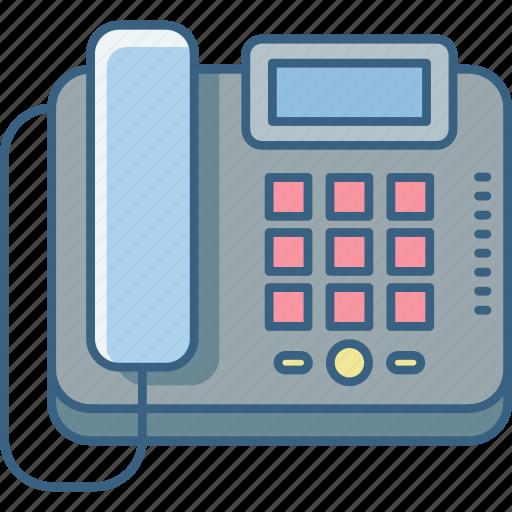call, communication, device, phone, telephone icon