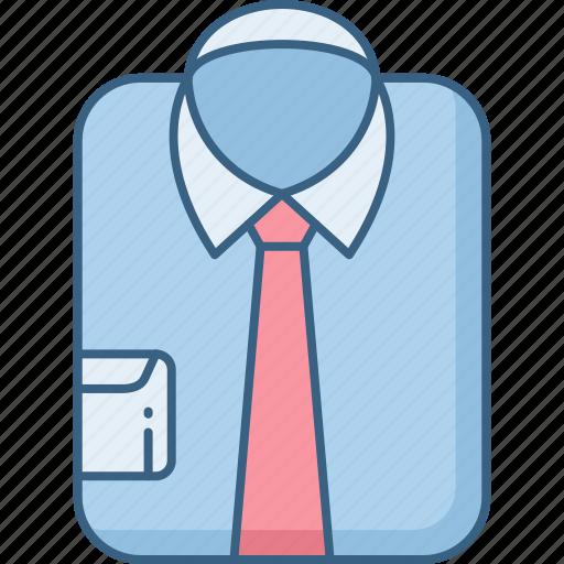 office, shirt icon