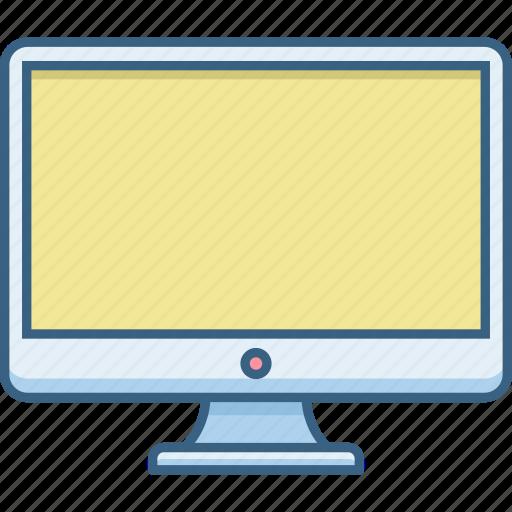 computer, desktop, display, office, pc icon