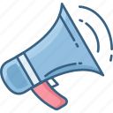 advertising, announcement, communication icon