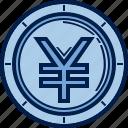 business, capital, cash, coin, finance, money, yuan icon